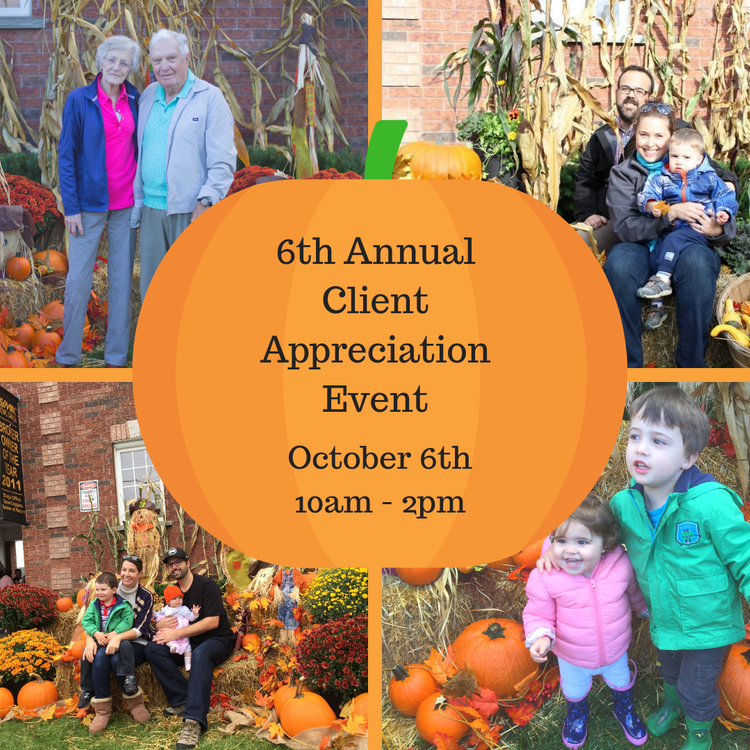 6th Annual Client Appreciation Event – A Harvest Of Thanks
