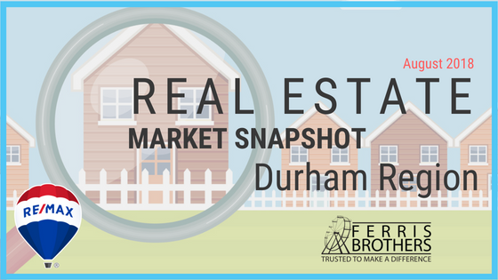 August 2018 - Real Estate Market Snapshot Durham Region