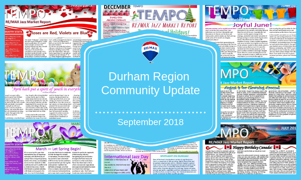 Durham Region Community Update - September 2018